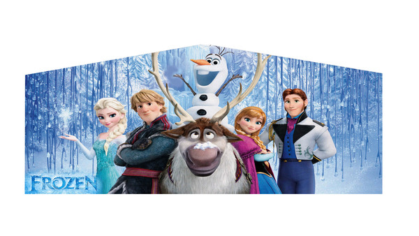 Frozen theme panel
