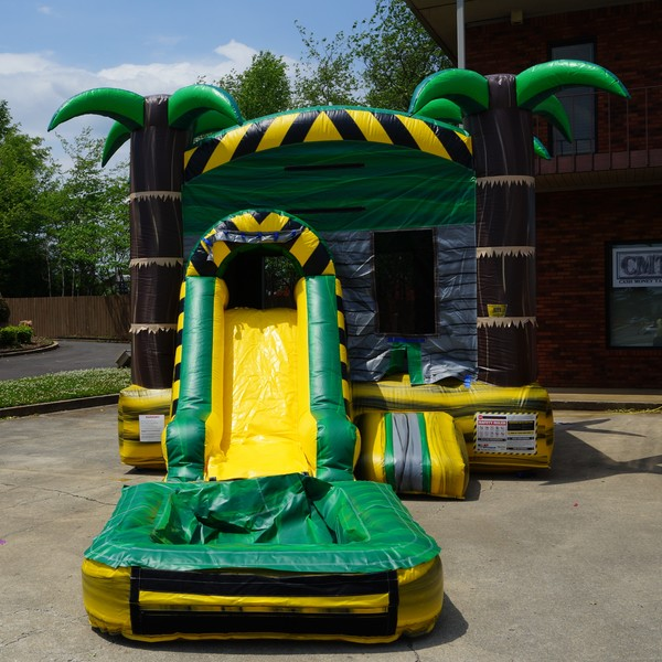 Tropical Rush Combo Water Slide