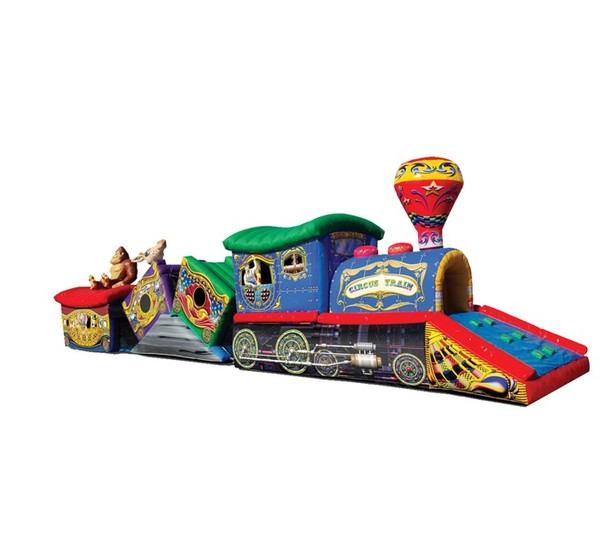 Circus Train Obstacle Course